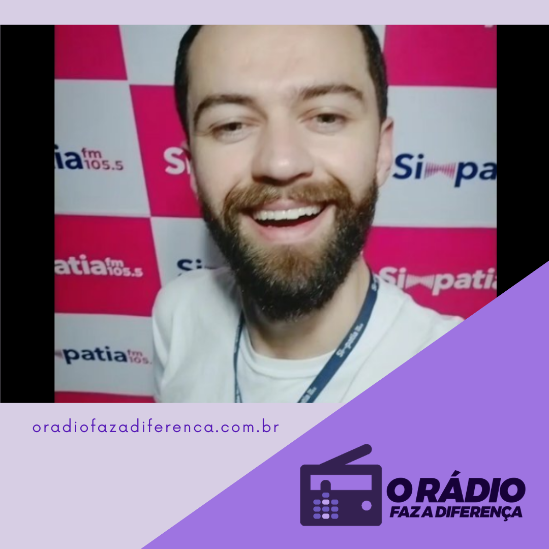Locutor Roger da rádio Simpatia FM