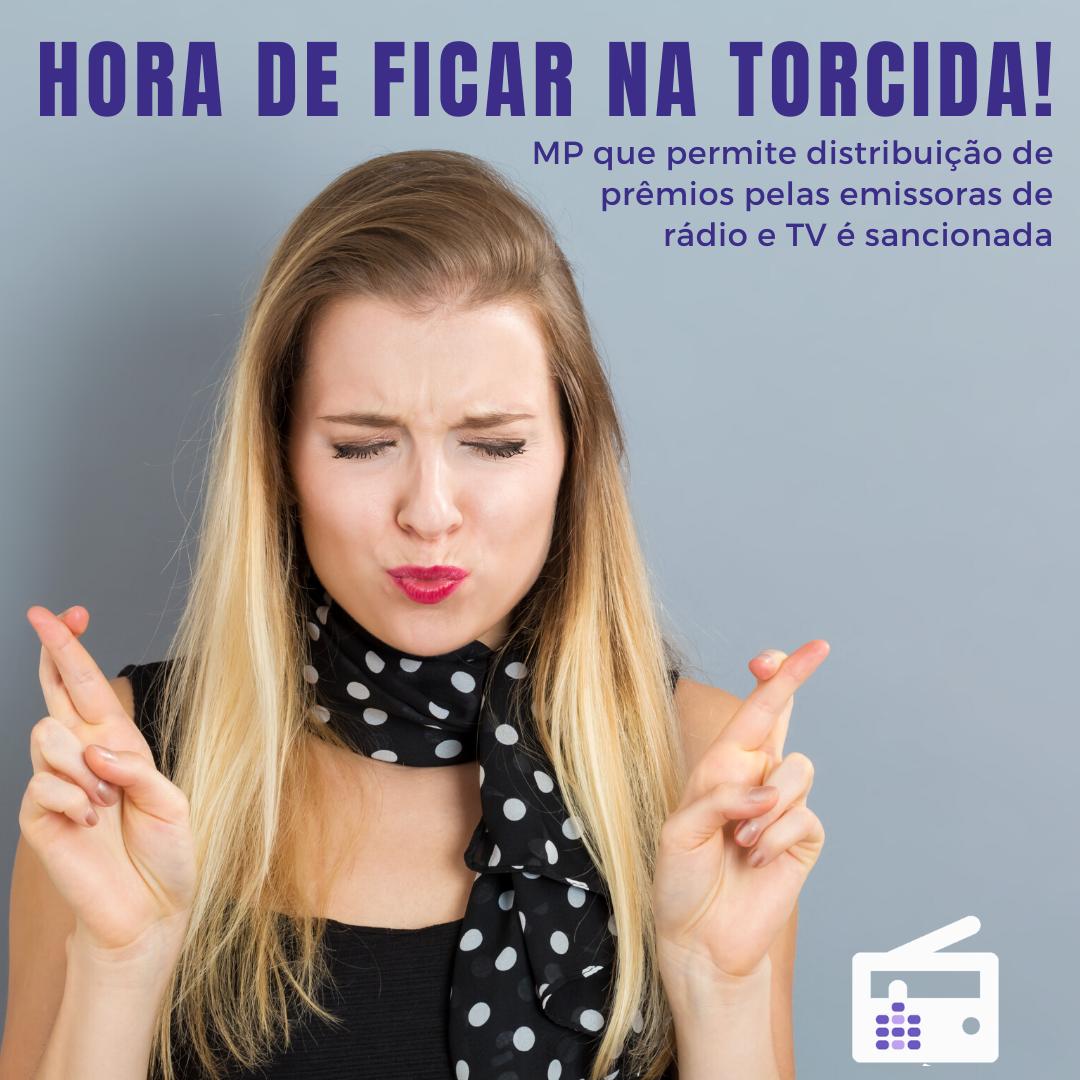 distribuição de prêmios pelas emissoras de rádio e TV é sancionada - audiency - o rádio faz a diferença
