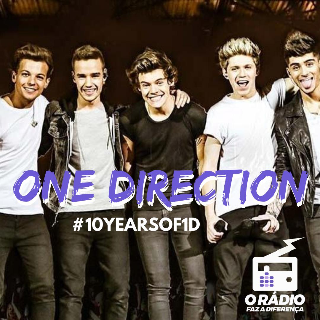 10 anos do One Direction - audiency - o rádio faz a diferença