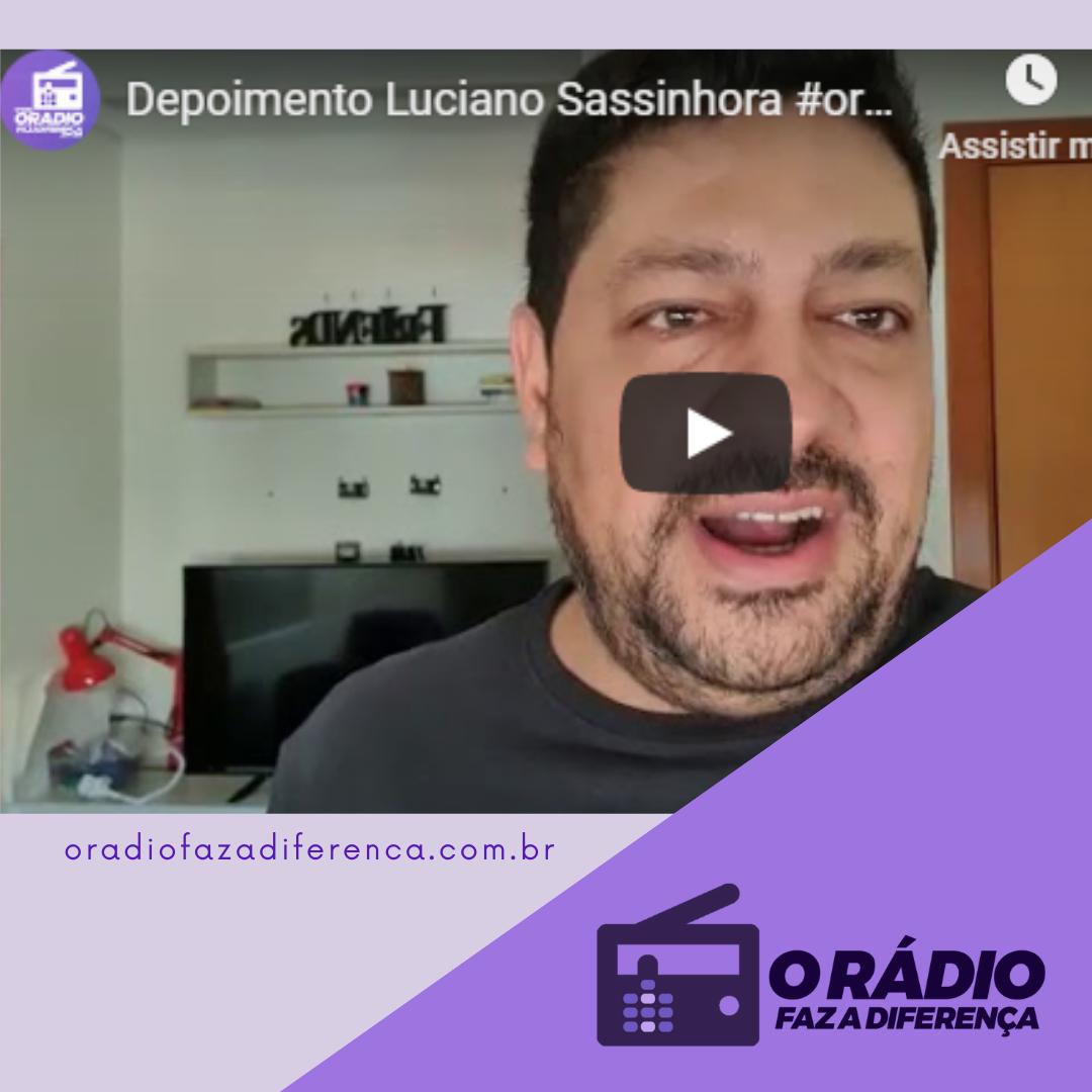 Locutor Luciano Sassinhora
