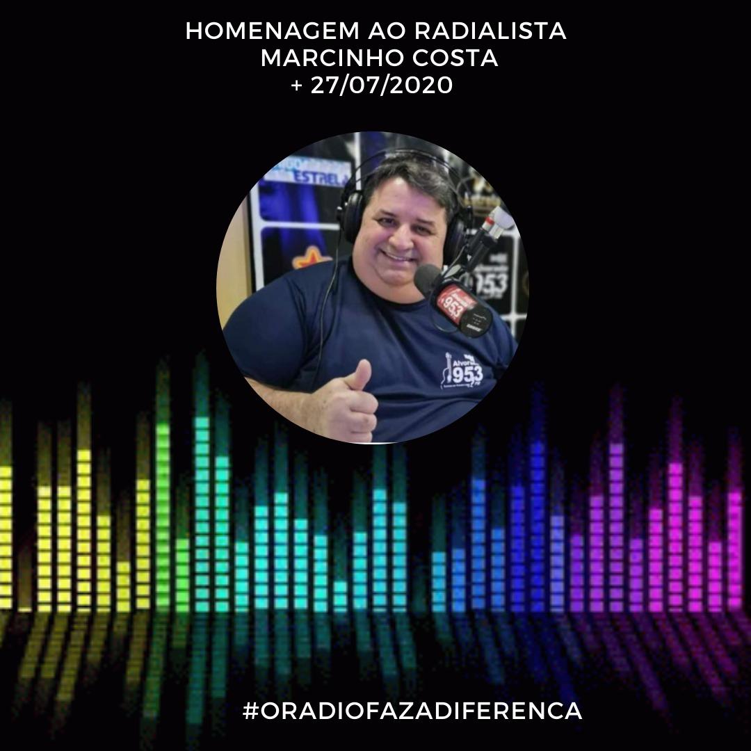 Homenagem para Marcinho Costa