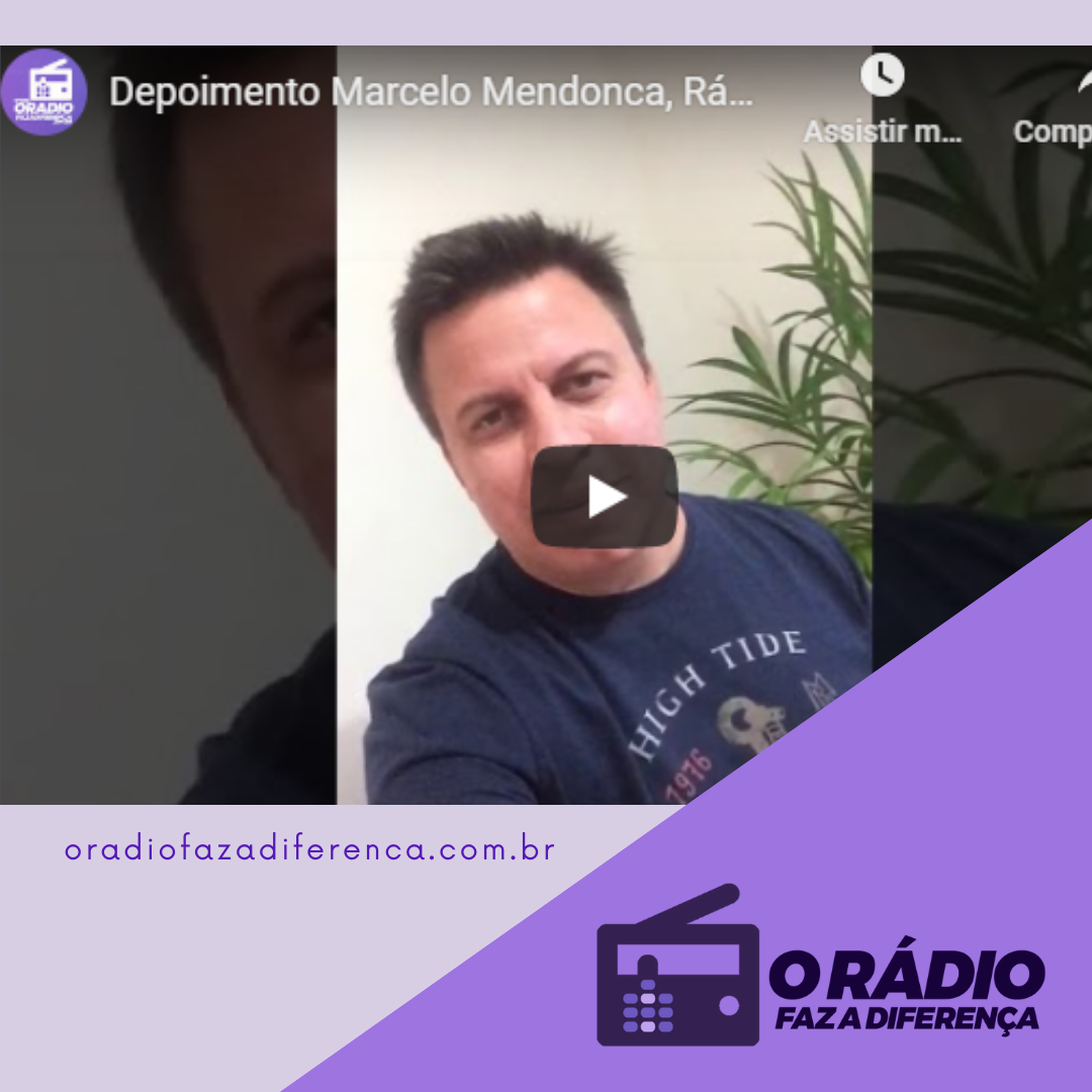 Locutor Marcelo Mendonça