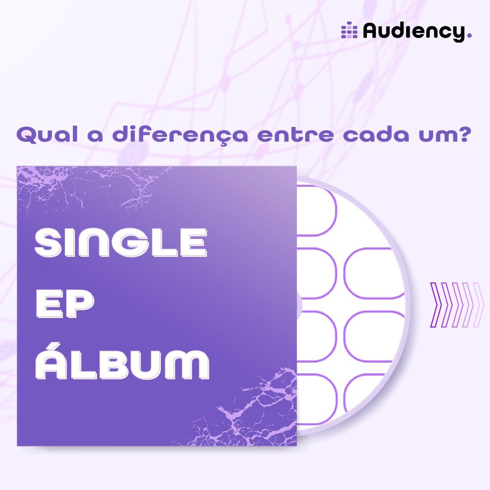 Single, EP ou álbum? Qual a diferença entre cada um?