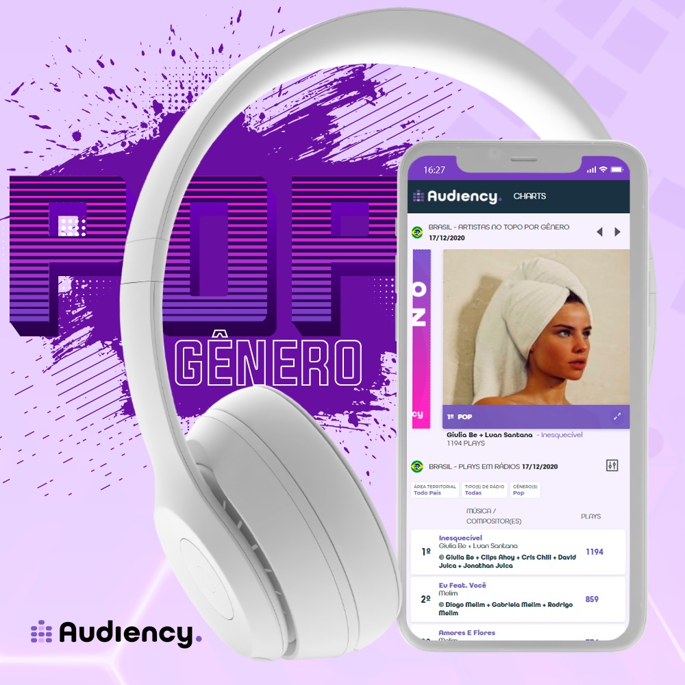 Audiency - gênero musical pop