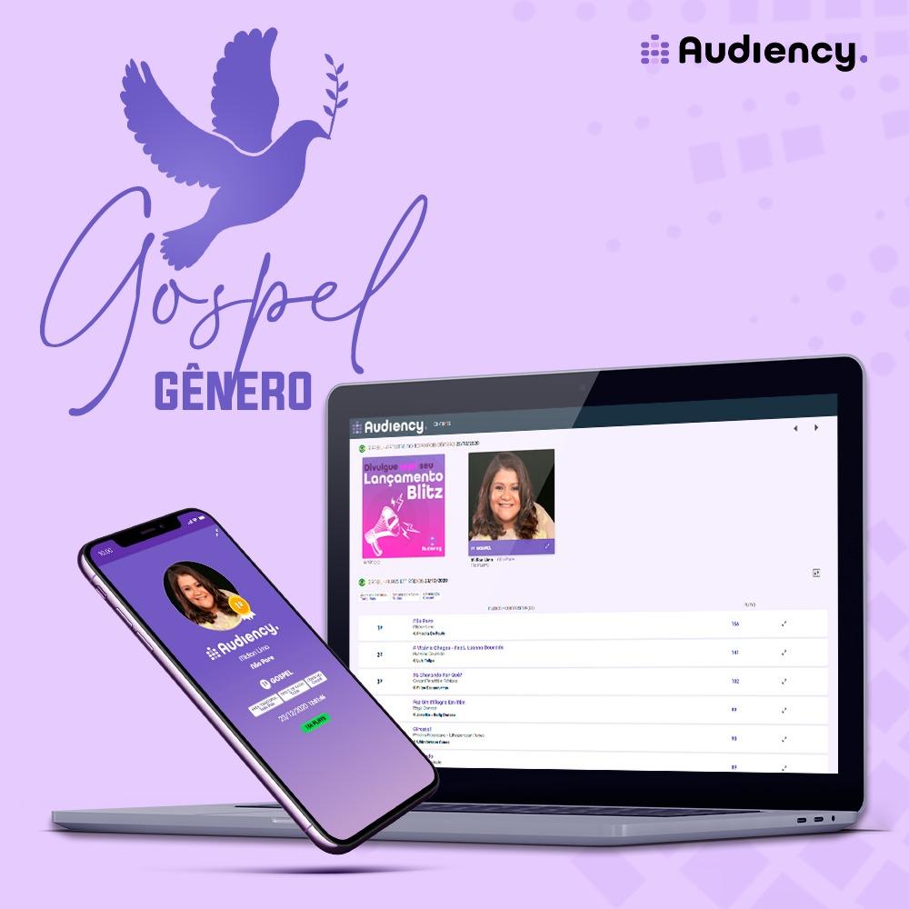 Audiency gênero gospel