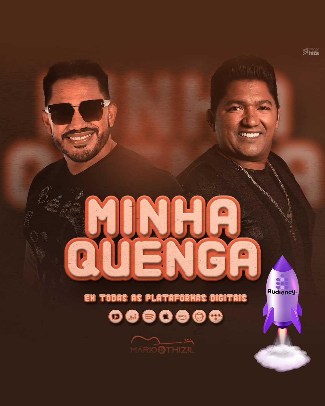 lançamento musical mário e thizil - audiency sertanejo