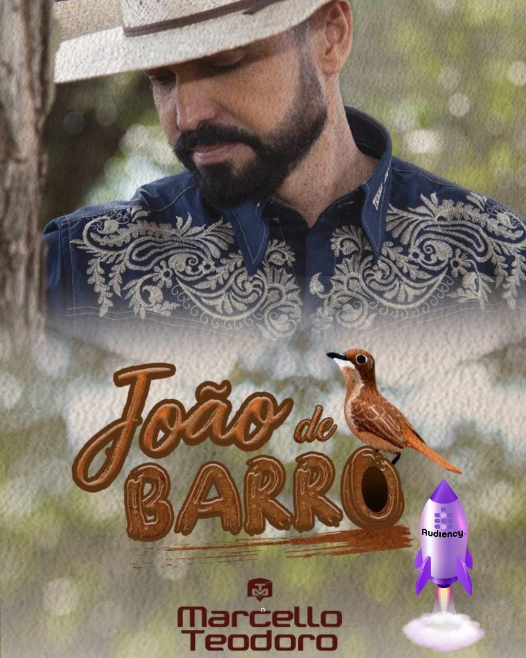 """Marcello Teodoro lança seu mais novo single """"João de barro"""""""