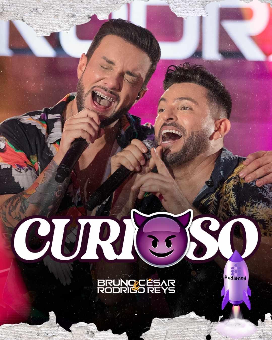 """Bruno César e Rodrigo Reys lançam """"Curioso"""" nas rádios do Brasil"""