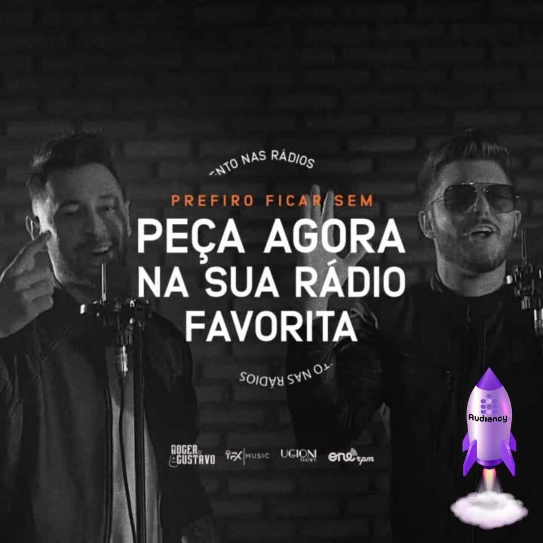"""Roger e Gustavo lançam single """"Prefiro Ficar Sem"""""""