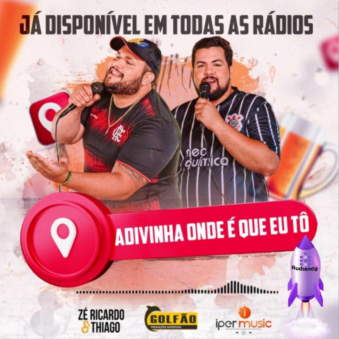 Zé Ricardo e Thiago lançamento musical audiency